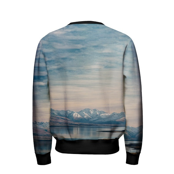 Mountains Buddha Sweatshirt