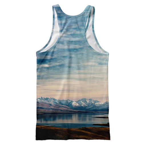 Mountains Buddha Tank Top