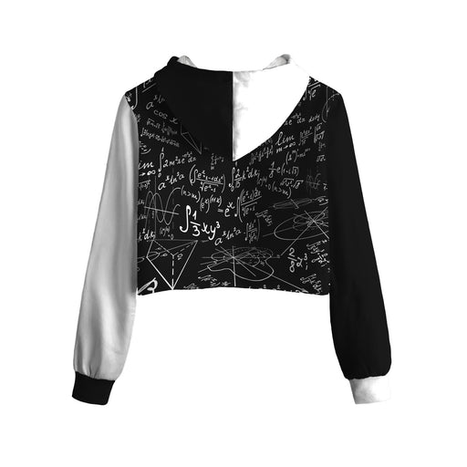 Equation Cropped Hoodie