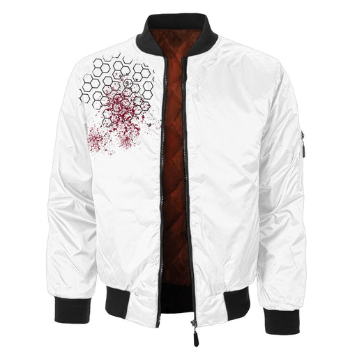 Real Skull Bomber Jacket