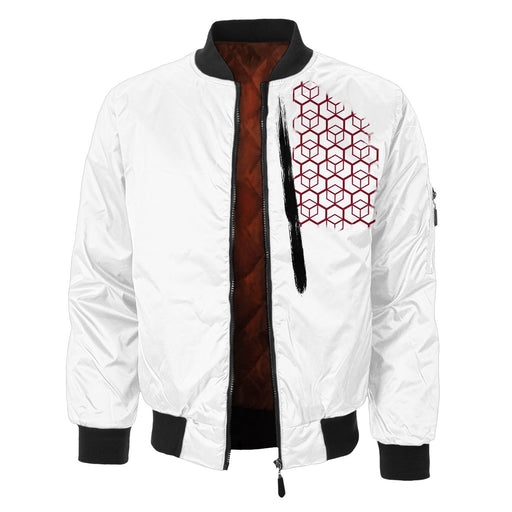 Real Face Bomber Jacket