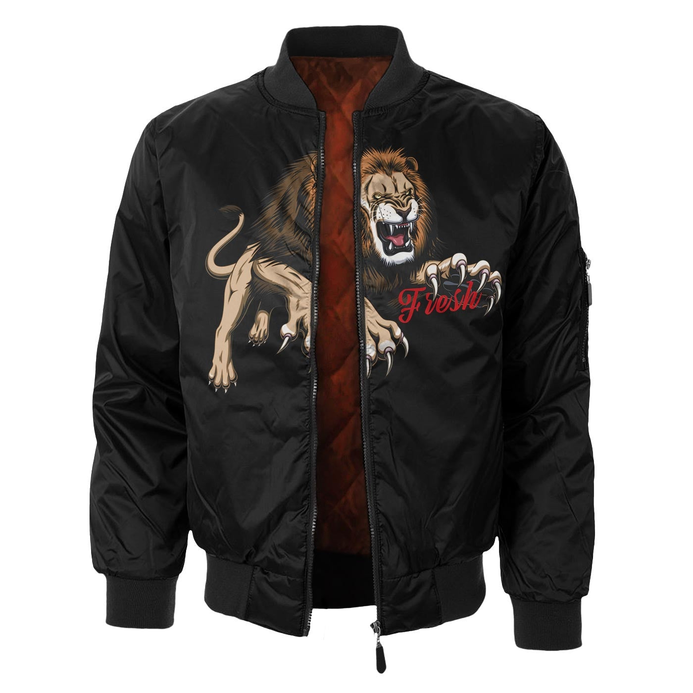 Lion Claws Bomber Jacket