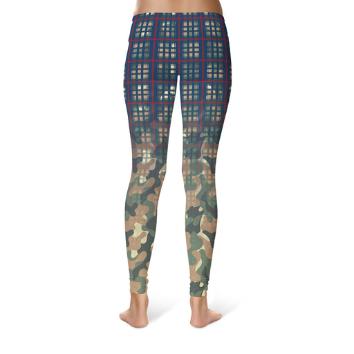 Multiplaid Leggings