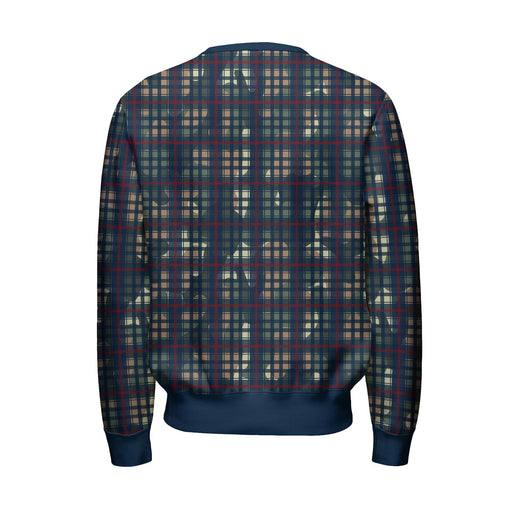 Multiplaid Sweatshirt