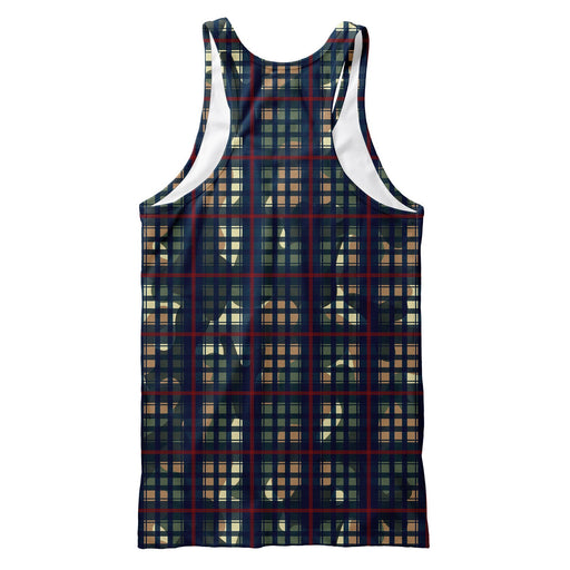Multiplaid Tank Top
