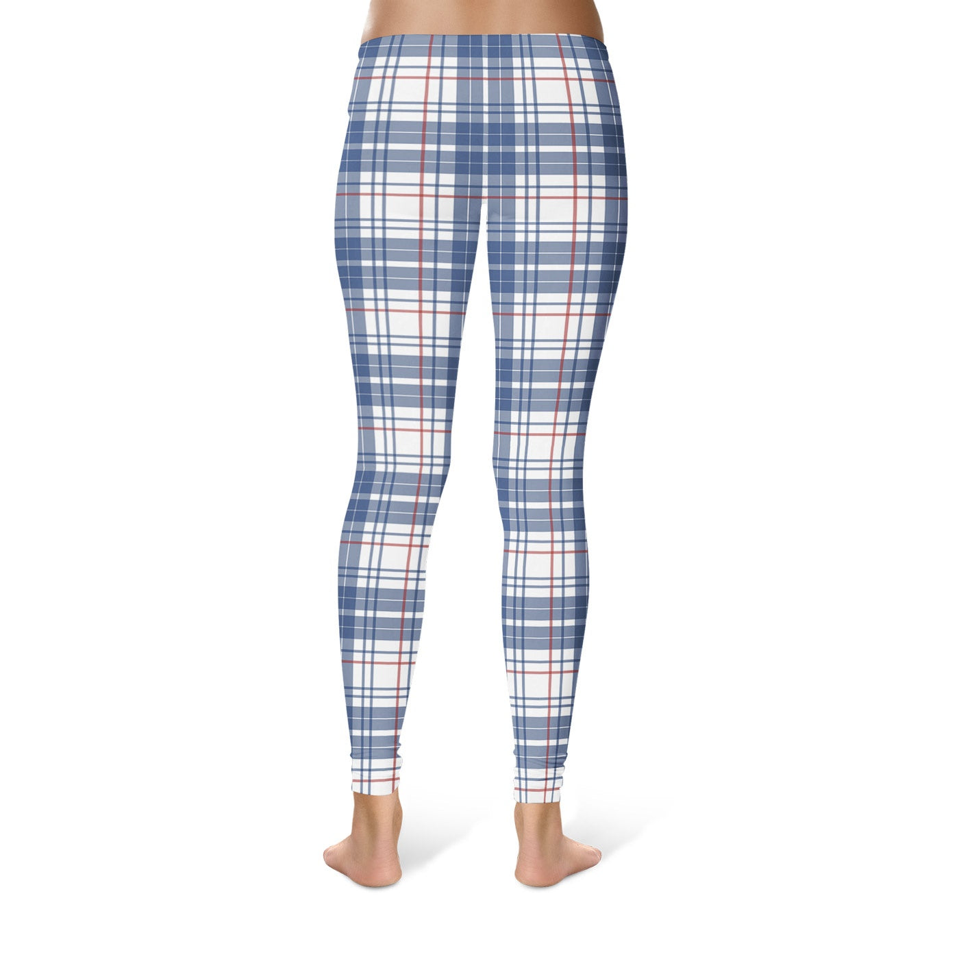 In Plaid Leggings