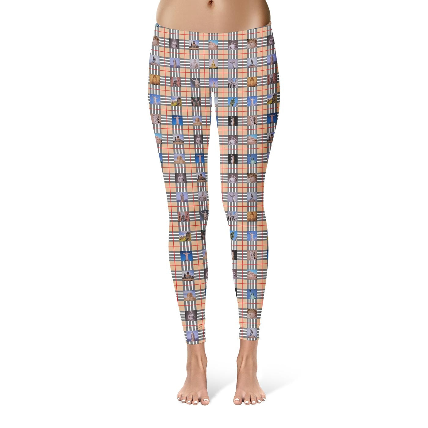 Cultural Snaps Leggings