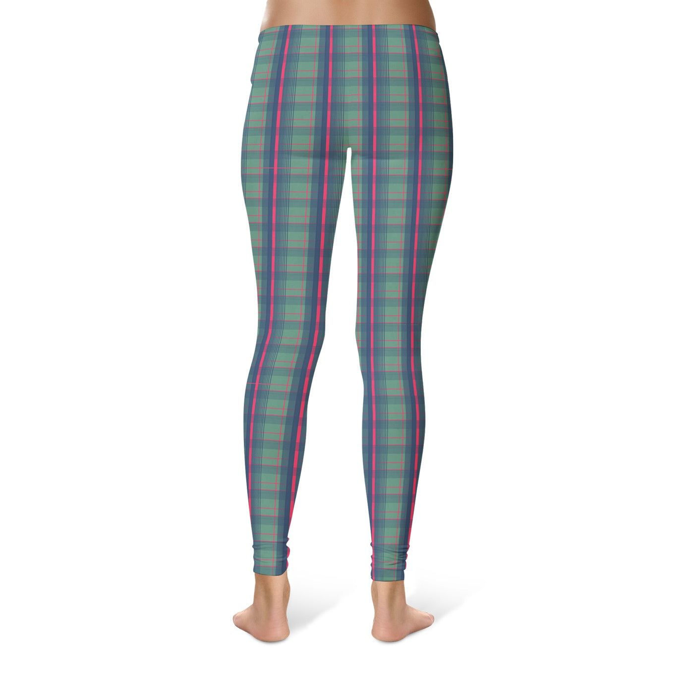 Mid Plaid Leggings