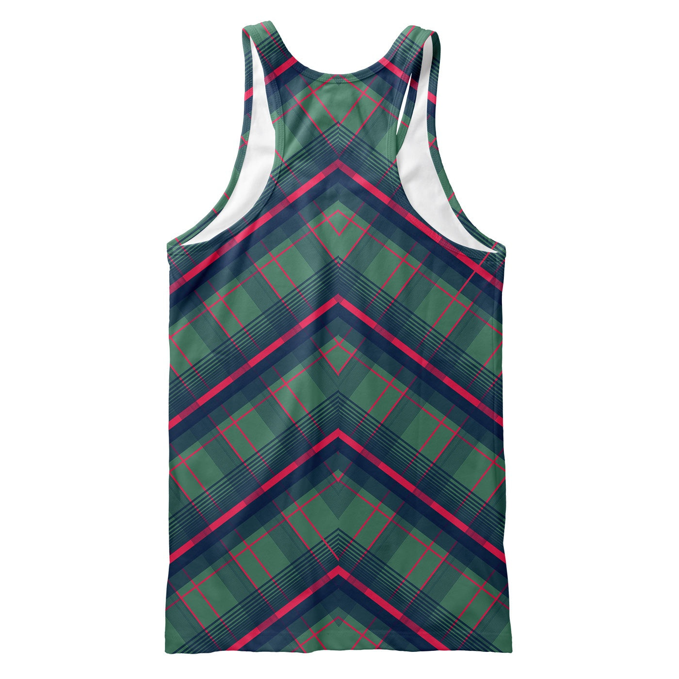 Mid Plaid Tank Top