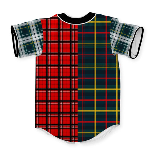 Plaid Combined Jersey