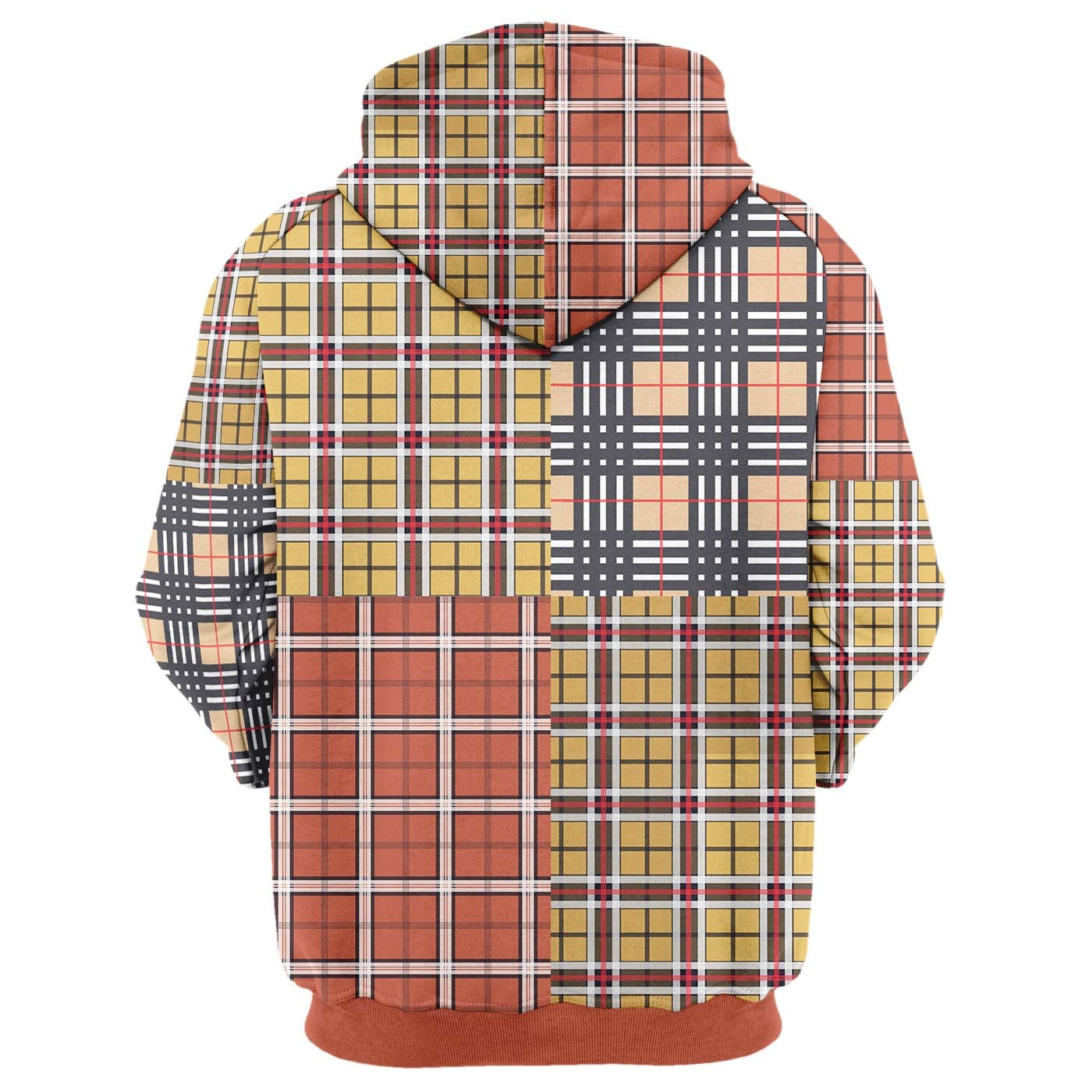 Out Plaid Hoodie