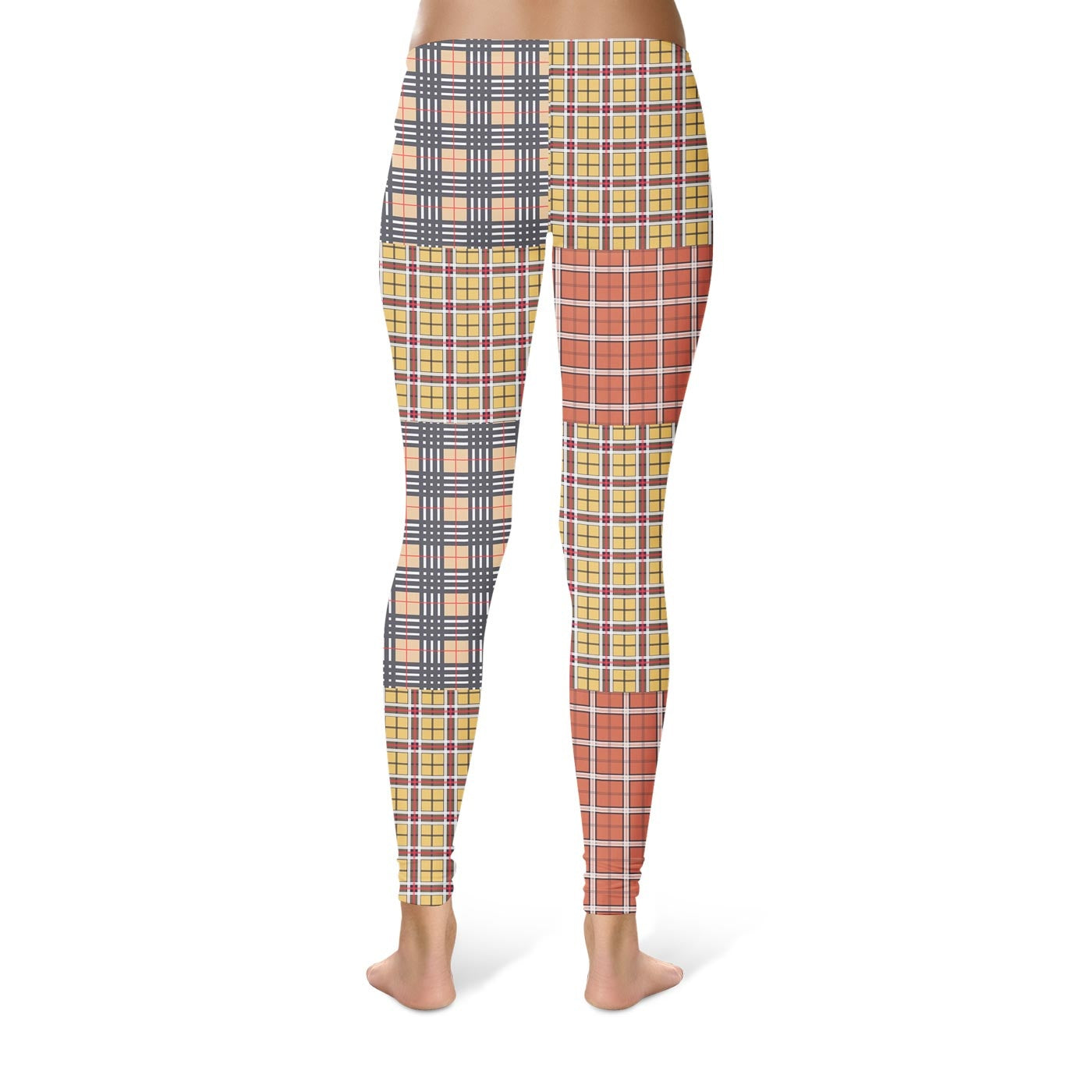 Out Plaid Leggings