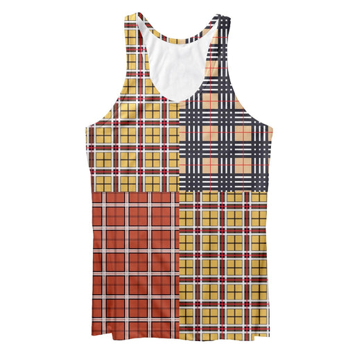 Out Plaid Tank Top