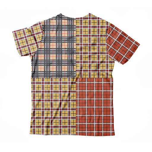 Out Plaid T-Shirt