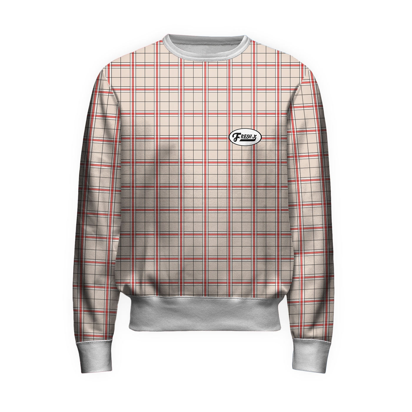 Fresh XPlaid Sweatshirt