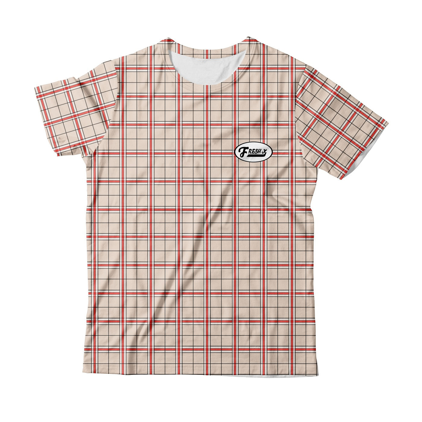 Fresh XPlaid T-Shirt