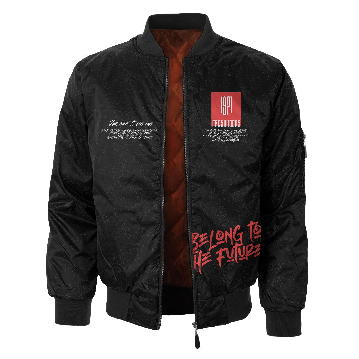 No Boundaries Bomber Jacket