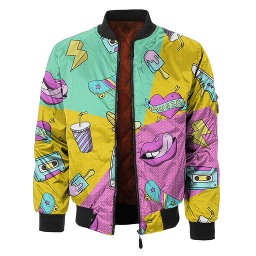 Holy Shh Bomber Jacket