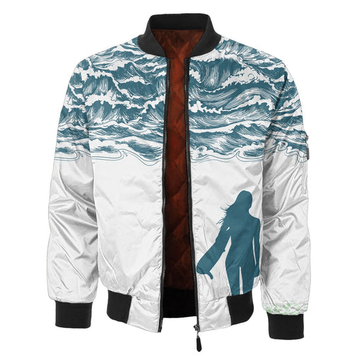 Waves Bomber Jacket