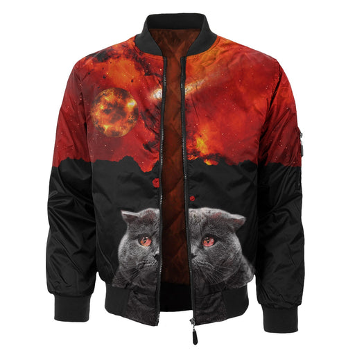Kitty Cat Bomber Jacket