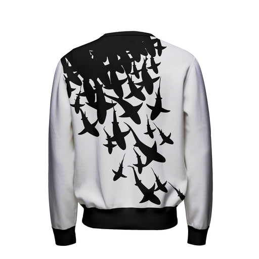 Swarm Of Sharks Sweatshirt