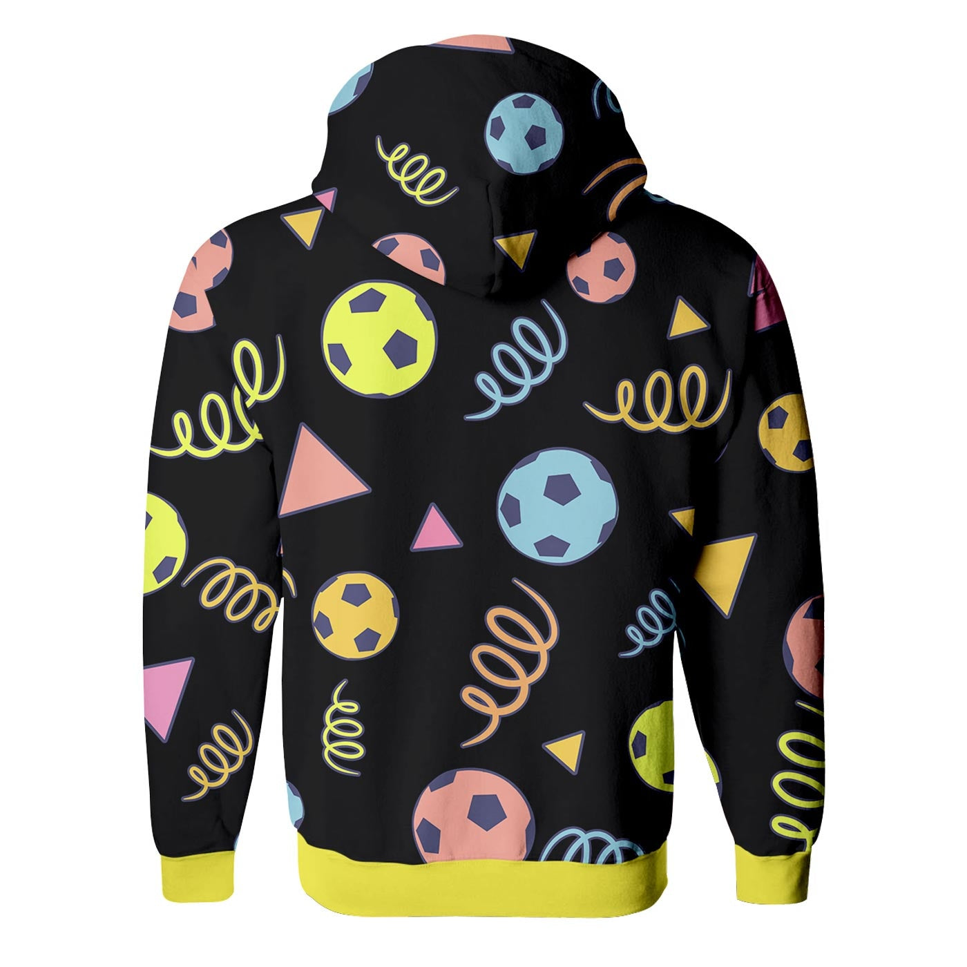 Soccer Ball Zip Up Hoodie