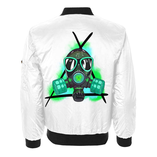 Toxic Mask Bomber Jacket