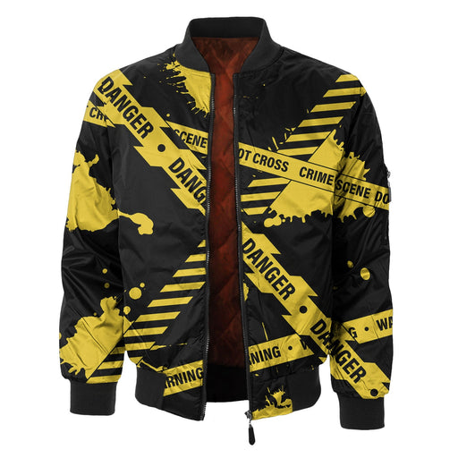 Caution Bomber Jacket