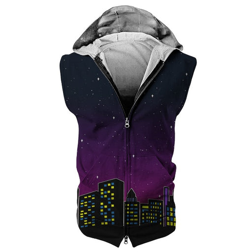 City Girls Sleeveless Hoodie