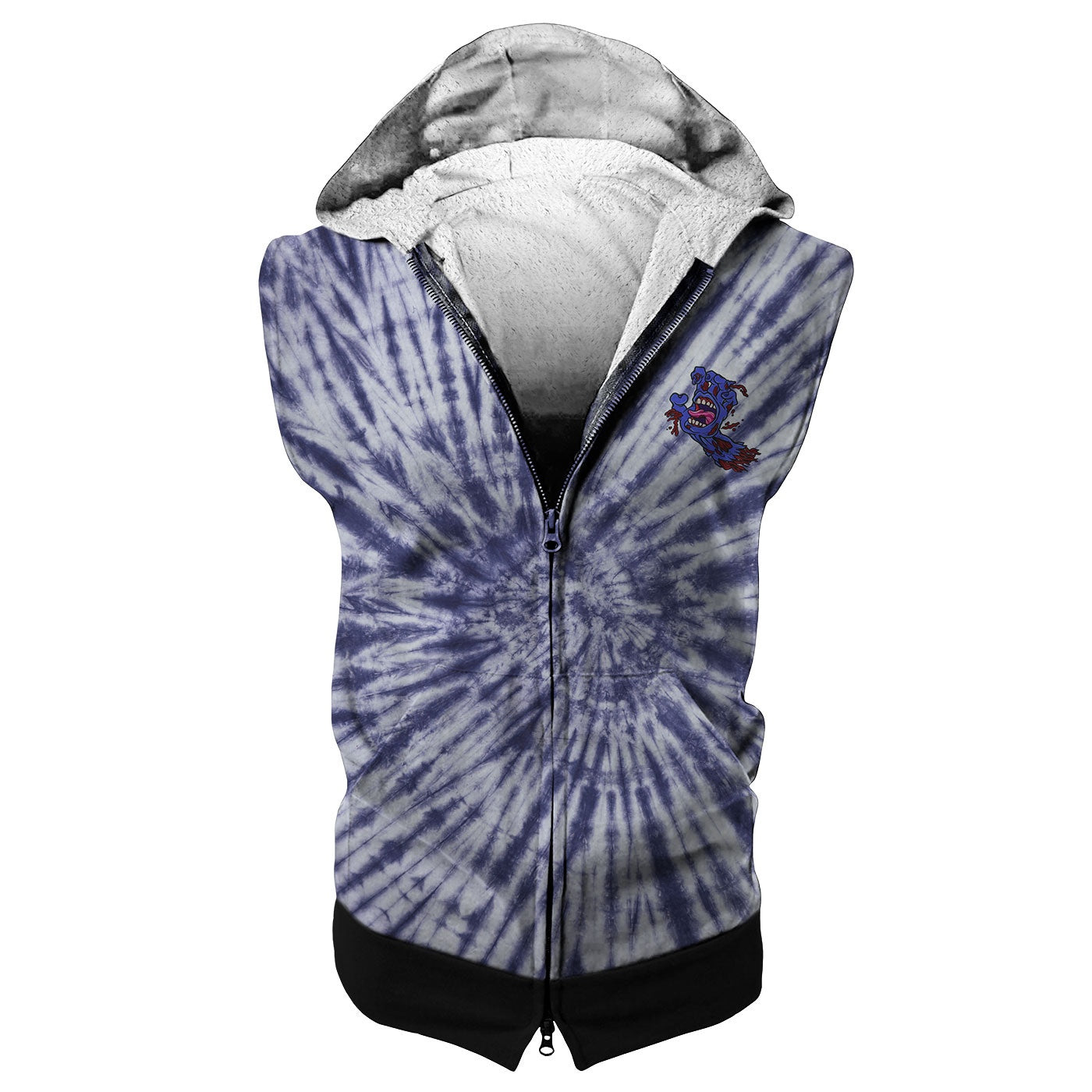 Here We Go Sleeveless Hoodie