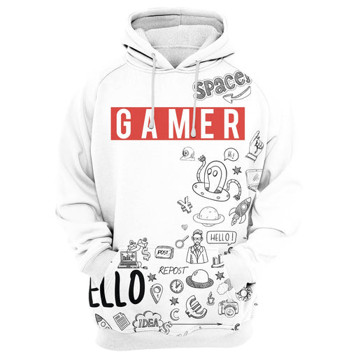 Gamer Be Like Hoodie