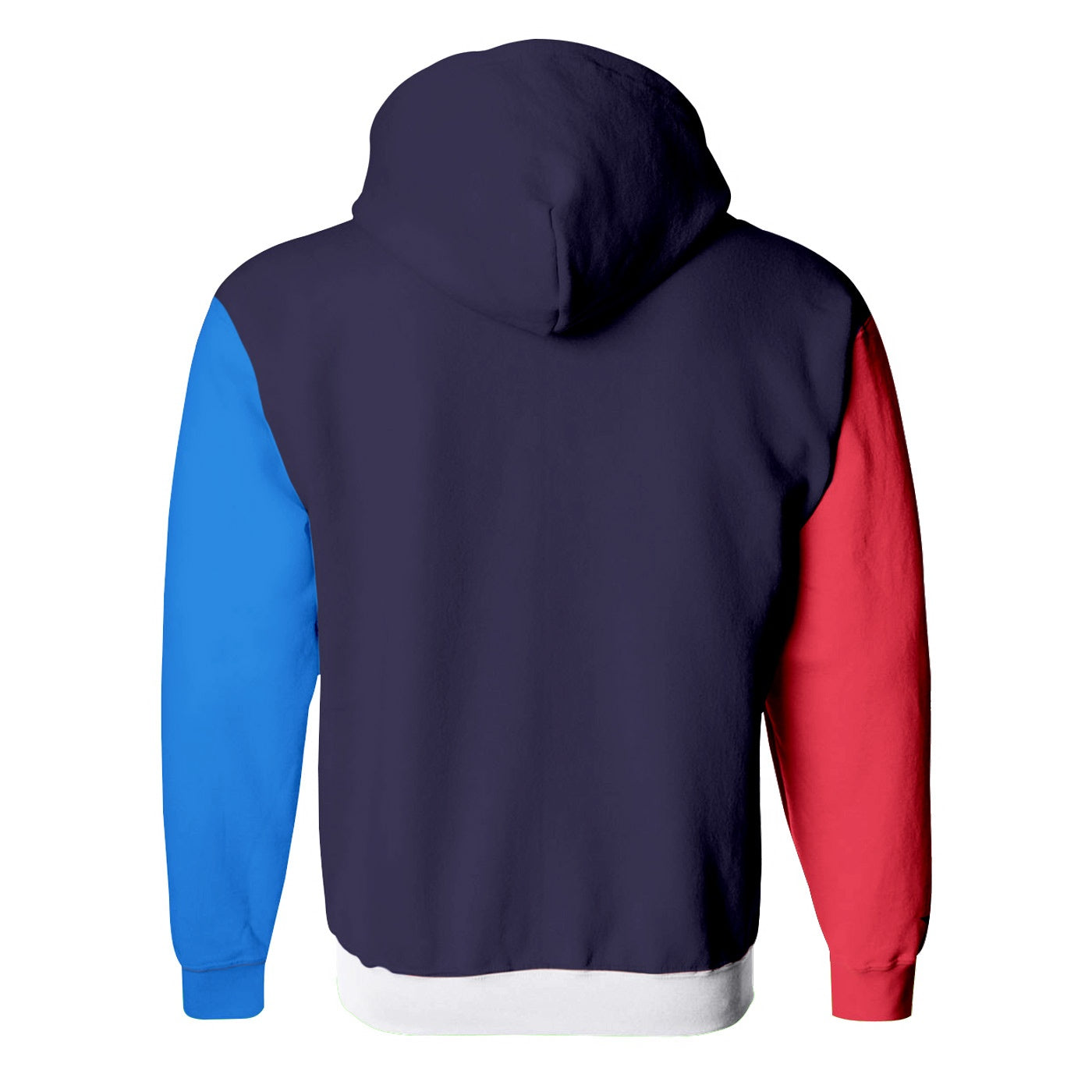 Colorful X Zip Up Hoodie