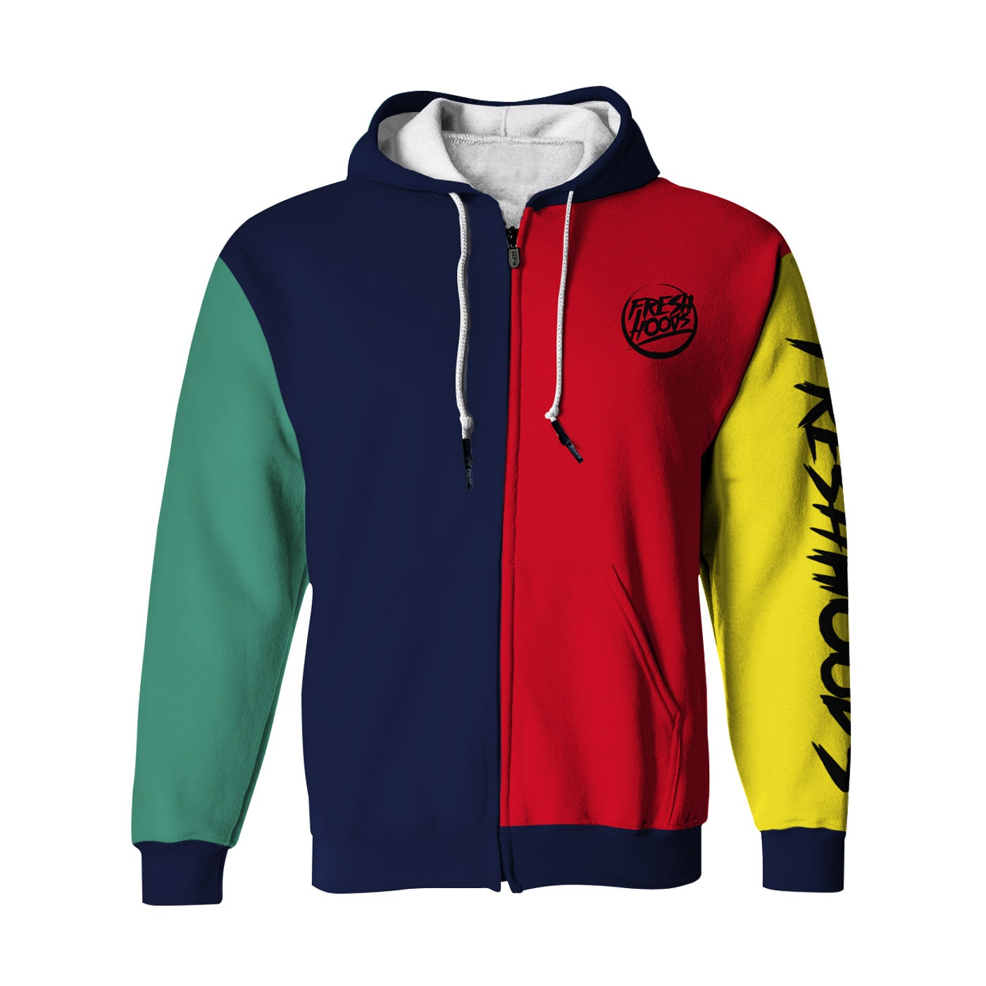 Official Zip Up Hoodie