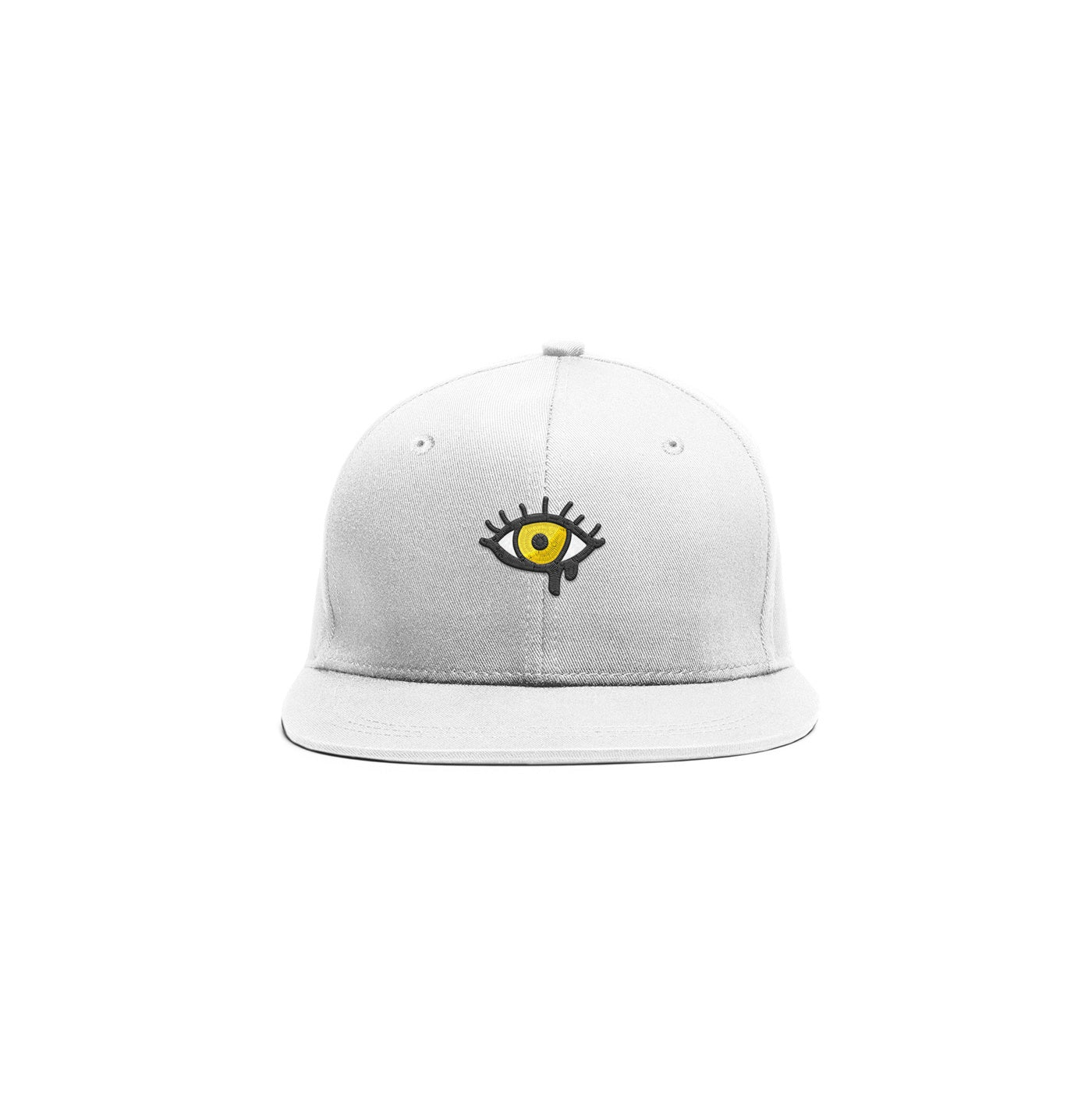 Embroidered Eye Cap