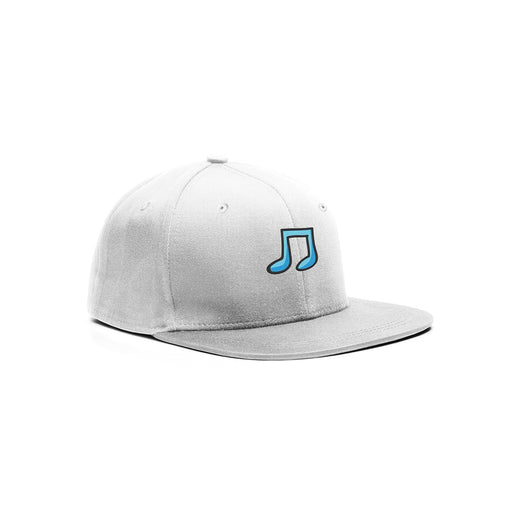 Embroidered Musical Note Cap