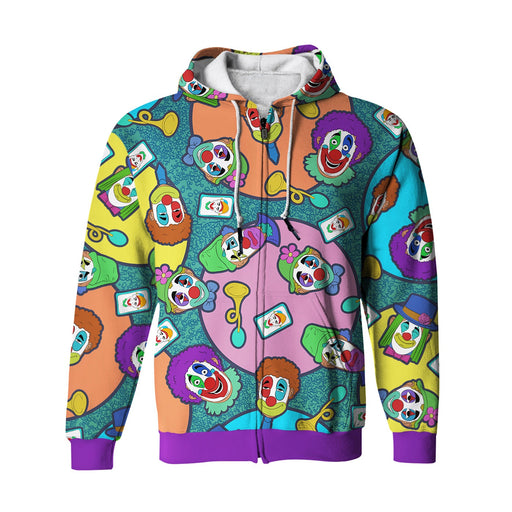 Clowns Zip Up Hoodie