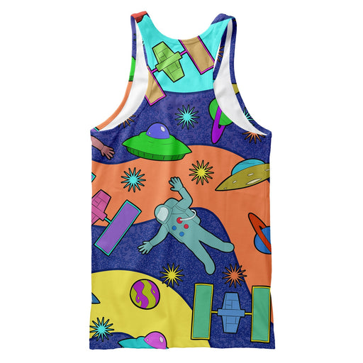 Spaceships  Tank Top