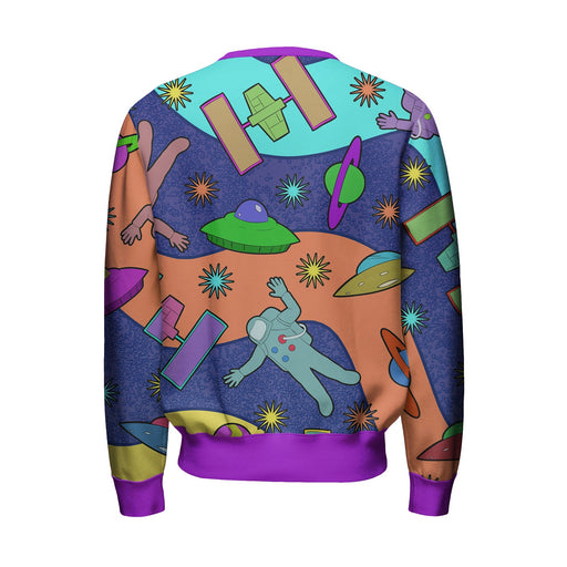 Spaceships Sweatshirt