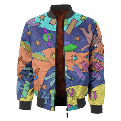 Spaceships Bomber Jacket
