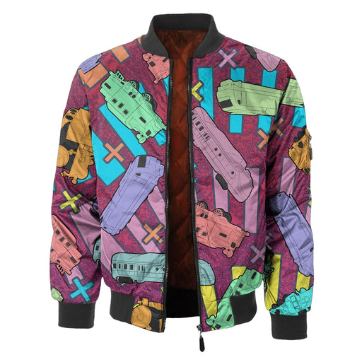 Trains Bomber Jacket