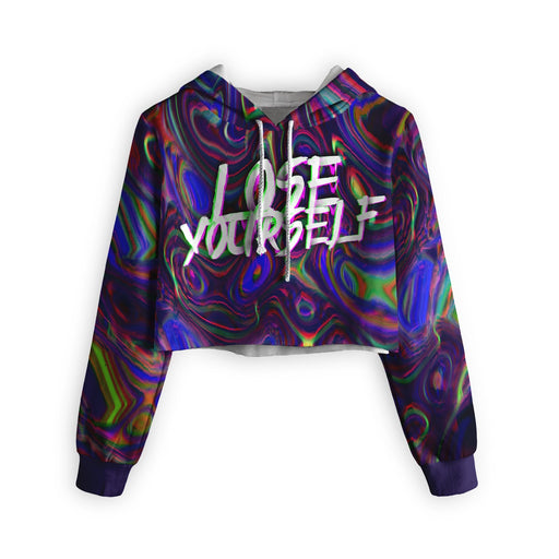 Lose Yourself Cropped Hoodie