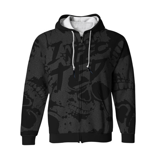 Infected Zip Up Hoodie