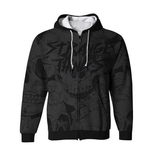 Strange Things Zip Up Hoodie