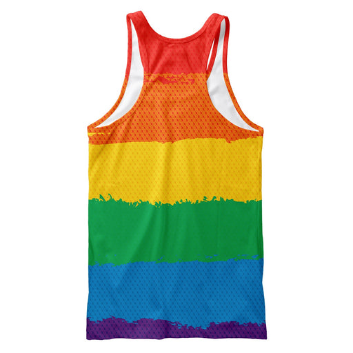 LGBTQ Rainbow Tank Top
