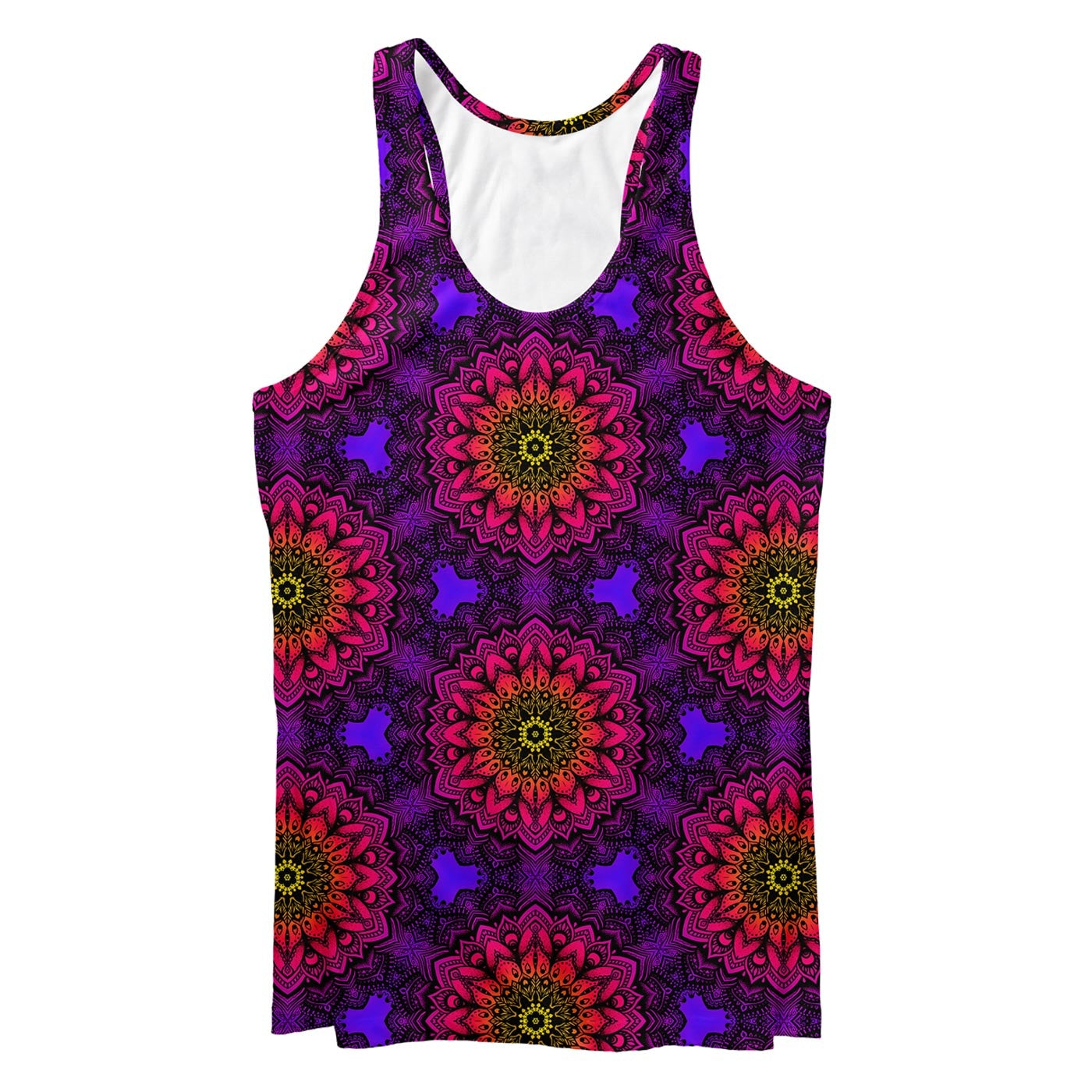 Mandala Effect Tank Top