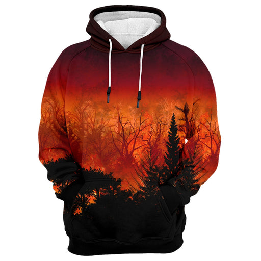Forest In Flames Hoodie