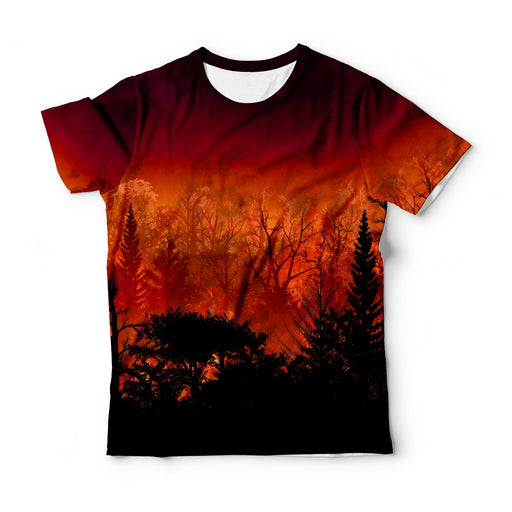 Forest In Flames T-Shirt