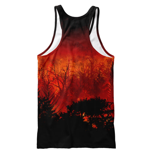 Forest In Flames Tank Top