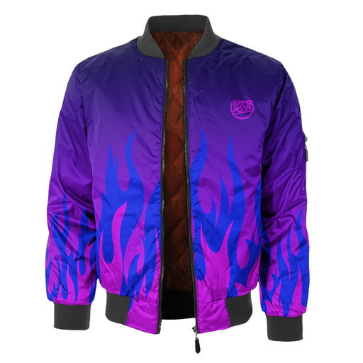Burn In Colors Bomber Jacket