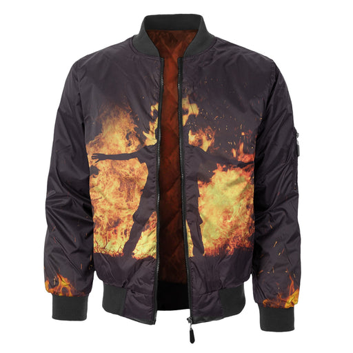 Fire In You Bomber Jacket